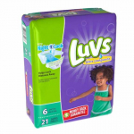 HOT! Luvs Super Absorbent Leakguards Diapers 21ct Pack Just $1.97/Each At Walmart!