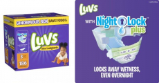 Amazon: Luvs Ultra Leakguards Diapers 186 Count Just $13.98 Shipped!