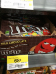 M&M's Singles Only $.45 at Walmart!