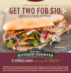 It's Back! Get Two Lunches For $10 At Macaroni Grill!