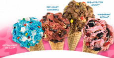 BOGO Free Ice Cream Combination at Maggie Moo's & Marble Slab Creamery