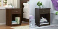 Mainstays 1-Drawer Nightstand / End Table Just $30.00!