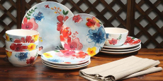 Huge Clearance on 16-Piece Dinner Sets only $12.16 – Many Colors!