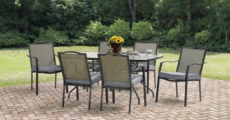 Mainstays Oakmont Meadows Patio Dining Set ONLY $159.00 Shipped!
