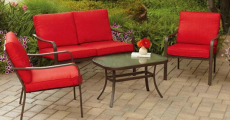 Mainstays 4-Piece Patio Furniture Set ONLY $159.00 Shipped!