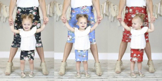 Mommy & Me Matching Floral Skirts Just $9.99/Each!