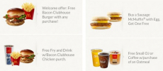 McDonald's App: FREE Bacon Burger with ANY Purchase + Much More!