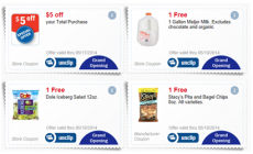 HOT! FREE Milk, Stacy's Pita Chips, and Dole Salad Mix + $5 off of Your Purchase at Meijer!