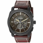 Men's Fossil Leather Strap Watch Just $64.99 Shipped!