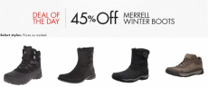 Amazon: 45% Off Merrell Winter Boots! Starting At $60.50!