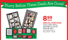 Michaels Doorbuster Deals: Collage Wall Frames & Sets Just $8.99 (reg. $39 to $49) + More!