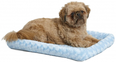 MidWest Bolster Pet Bed Ideal for Metal Dog Crates