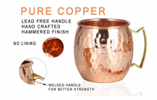 Moscow Mule Copper Mugs $29.95 (REG $104.99)