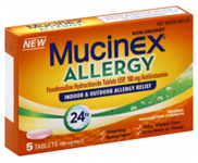 FREE Mucinex Allergy at Walgreens!