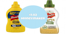 Sweet! Get A $1.02 Moneymaker On French's Mustard!