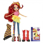My Little Pony Equestria Girls Rainbow Rocks Sunset Shimmer Doll Only $10.98 At Target!