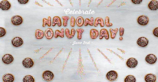 Celebrate National Donut Day At Dunkin' Donuts 6/2!