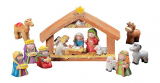 Cool! Mini Christmas Nativity Set For Only $14.95!