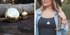 Gift Idea! Monogram Locket Necklaces $14.49 Engraved!