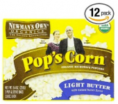 Newman's Own Organic Microwave Popcorn Only $0.32 Per Bag Shipped!