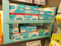 Receive  40 ct of FREE  o.b Tampons!