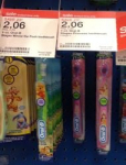 Kid's Oral-B Toothbrush Just 6¢ After Stacked Coupons at Target