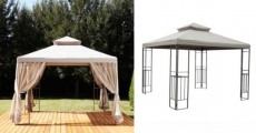 Outdoor Oasis Outdoor Gazebo Only $186.75 Shipped!