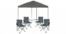 Wow! Ozark Trail 10×10 Canopy + 4 Chairs Bundle Just $89.00 Shipped!
