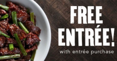 Buy One Get One FREE Entree at PF Chang's!