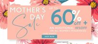 Up to 60% OFF+ additional 10% OFF on all Women's Fragrance