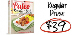 Get Paleo Bible Recipe Book Only $10.00! Normally $39.00!