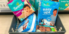 8 Jumbo Packs of Pampers Diapers Just $3.72/Pack + Free Shipping!