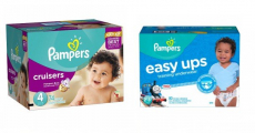 Holy Cow! Pampers Diapers & Pampers Easy-Ups Super Packs ONLY $14.64/Each!