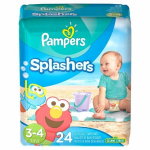 Pampers Splashers Disposable Swim Diapers Just $5.72/Pack At Walmart!