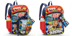 Paw Patrol 5-Piece Backpack Set only $8.88 (reg $15) + More!