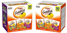 Pepperidge Farm Goldfish 30-Count Variety Pack just $6.36 shipped!