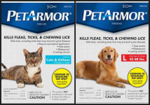 New! Free sample of PetArmor For Dogs Or Cats!
