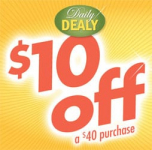 Pier 1 Imports: $10 Off $40 Purchase Today – 1/22 Only!