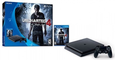 Awesome! Get This PlayStation 4 Slim 500GB Console Uncharted 4 Bundle + $25 Amazon Gift Card For Only $249.99 Shipped!