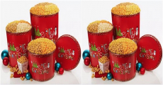 Don't Miss It! Enter To Win A Popcorn Factory Merry Christmas Popcorn Tin!