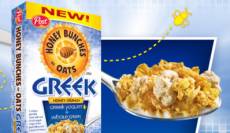 $1/1 Post Honey Bunches of Oats Greek Honey Crunch Cereal Coupon