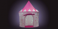 Princess Castle Play Tent with Glow in the Dark Stars Only $22.99 Shipped!