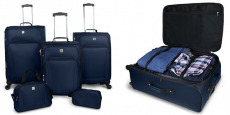 Protege 5-Piece Spinner Luggage Set only $58.00 shipped (reg $100)