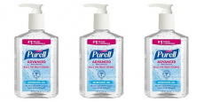 FREE + Moneymaker Purell Advanced Hand Sanitizer!