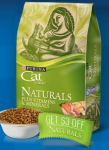 $3 off Purina Cat Chow Naturals Coupon- First 2,000 Daily!