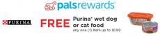 FREE Purina Wet Dog or Cat Food