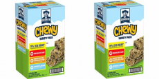 Quaker Chewy Granola Bars 58-Count Variety Pack Just $8.42 Shipped!