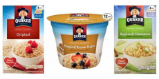 Quaker Instant Oatmeal Express Cups Just $0.59/Each Shipped!