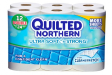 Quilted Northern Bath Tissue $0.32/Roll At Target After Coupon Stack and Cartwheel!