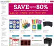 80% Sales Sitewide on School Supplies Pre-K – High School (Coupon Below)